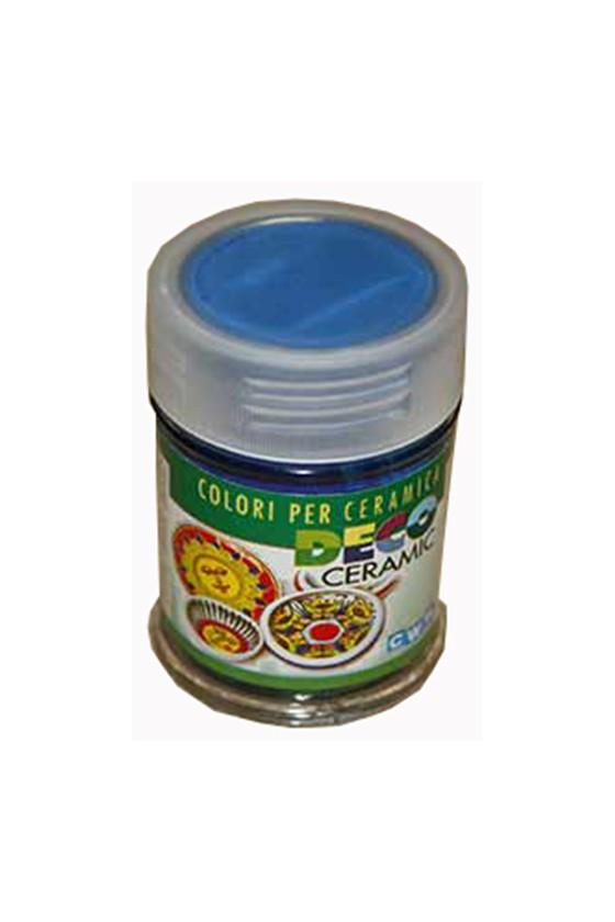 COLORI X CERAMICA 35 ml.- BLU