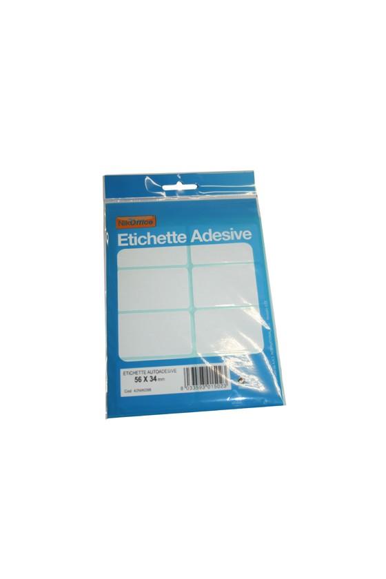 ETICHETTE BIANCHE 56x34 -...