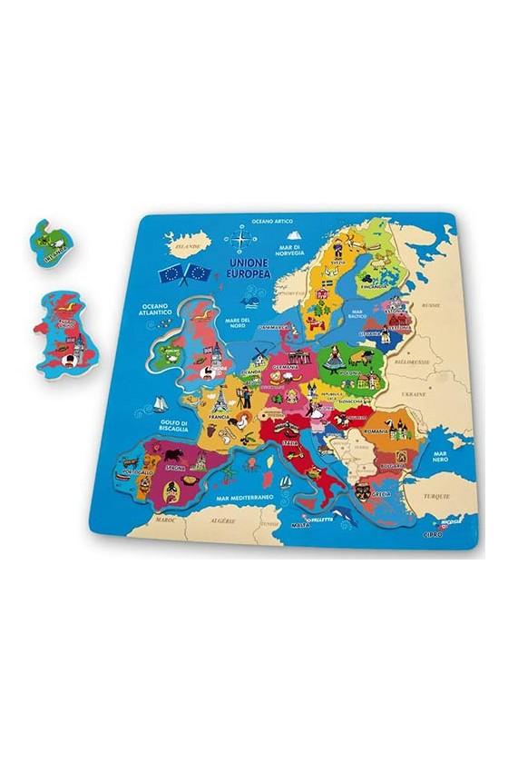 PUZZLE GEOGRAFICO - EUROPA