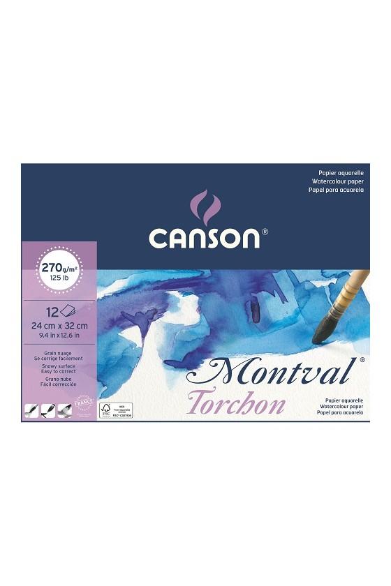 CANSON MONTVAL BLOCCO 24x32...